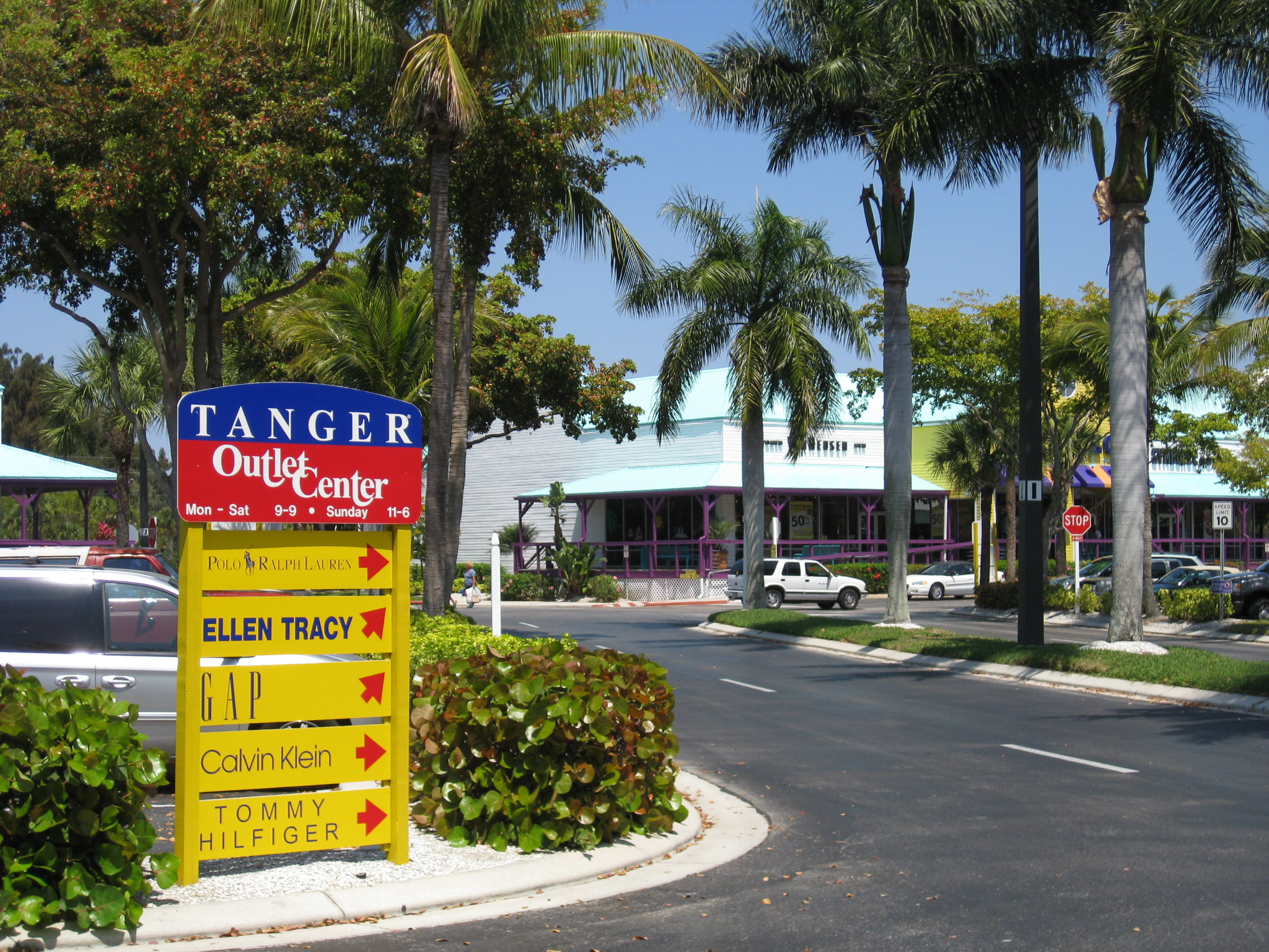 Tanger Outlet, Fort Myers